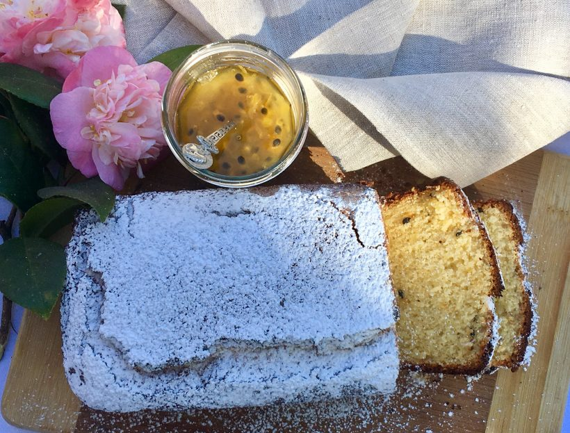 Passionfruit and Coconut Cake