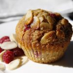 Coconut Almond Raspberry Muffins