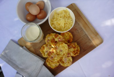 frittatas, finger food
