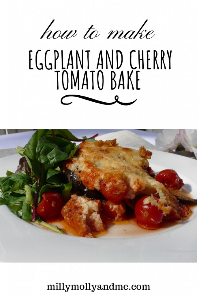 Eggplant and Tomato Bake
