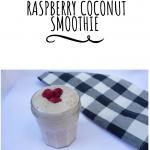 Raspberry Coconut Smoothie, breakfast