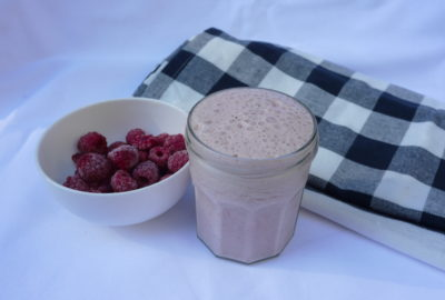 Raspberry Coconut Smoothie, Breakfast