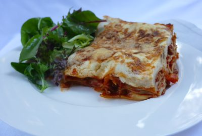 Lentil Pork and Veal Lasagne