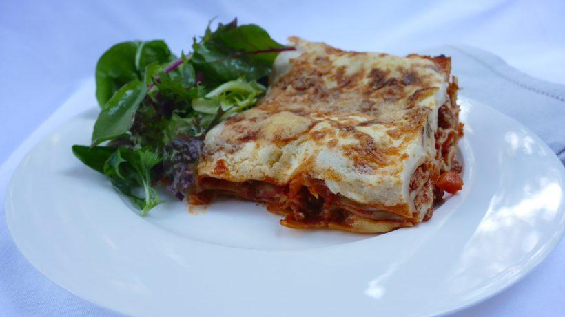 Lentil Pork and Veal Lasagne