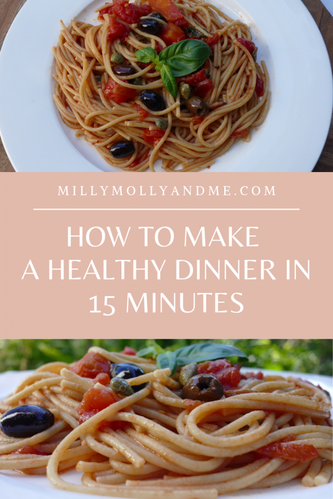 Healthy Dinner in 15 Minutes