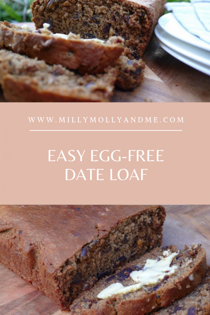 Easy Egg-Free Date Loaf Pin