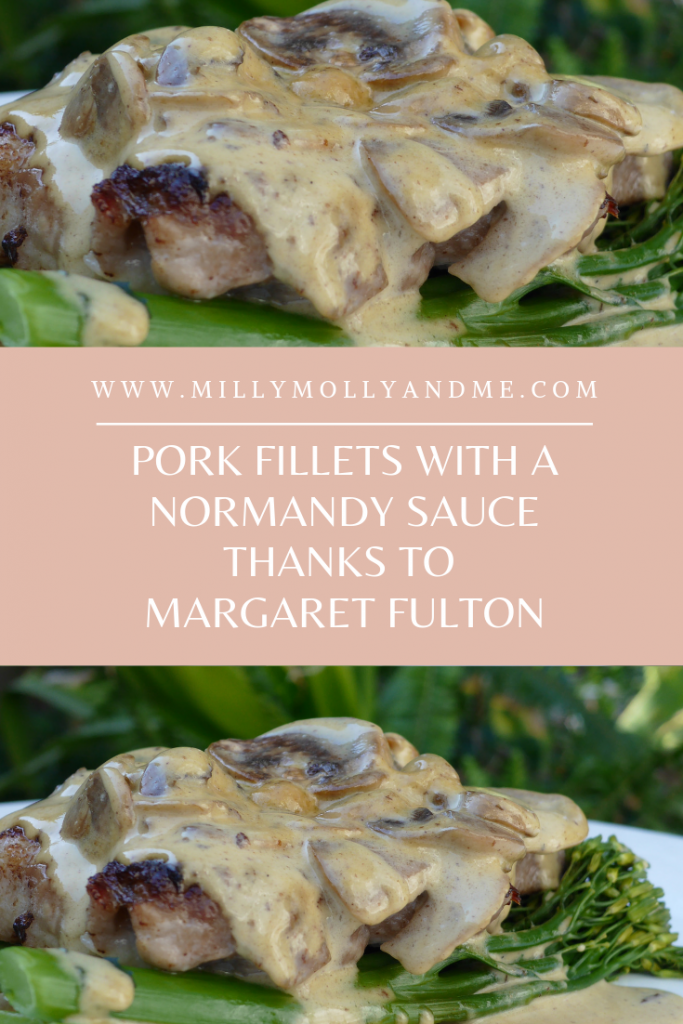 Margaret Fulton - Pork Fillets in Normandy Sauce