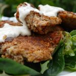 Salmon Cakes with Lemon Dill Mayonnaise Pin