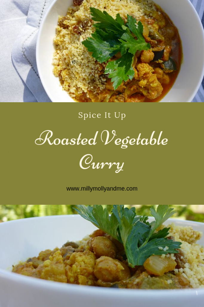 Roasted Vegetable Curry Pin