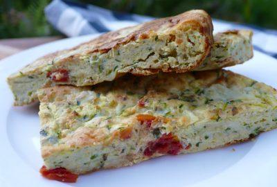Herbed Zucchini Slice