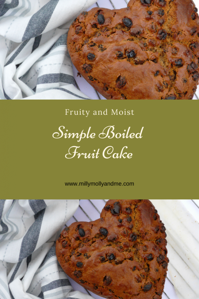Simple Boiled Fruit Cake Pin