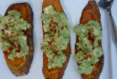 Avocado On Sweet Potato 'Toast'