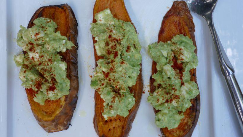Avocado On Sweet Potato 'Toast'