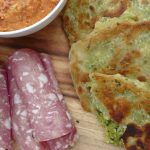 Pesto Flatbreads for Your Grazing Platter