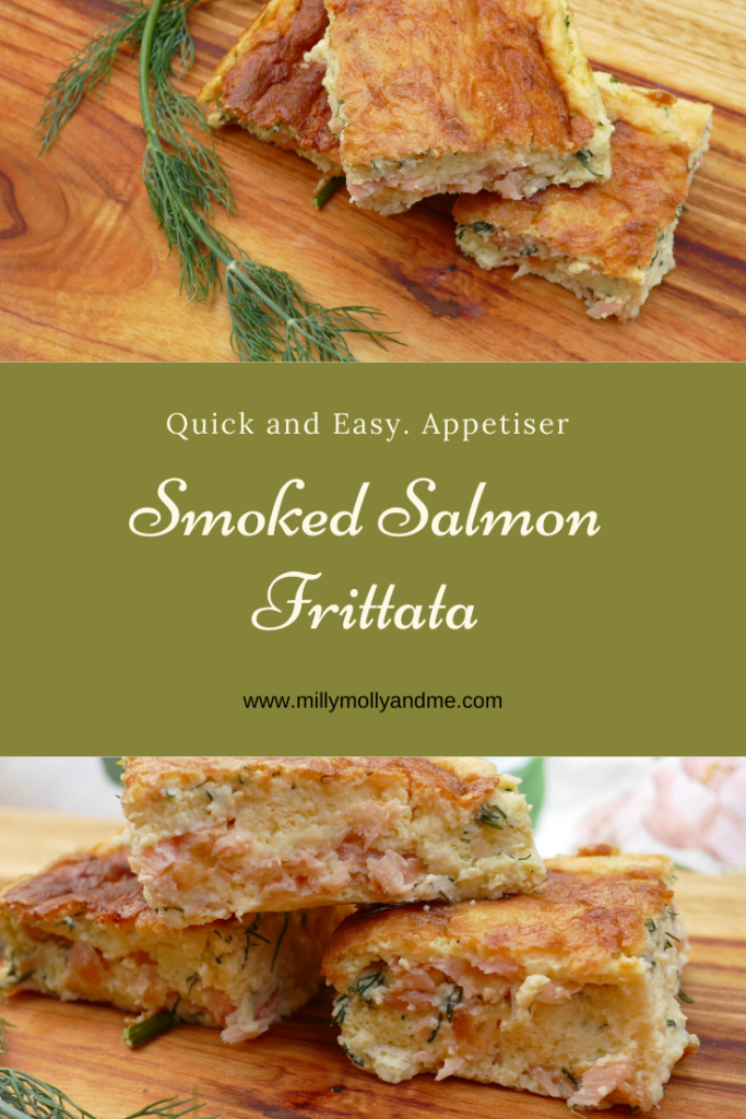Smoked Salmon Frittata Pin