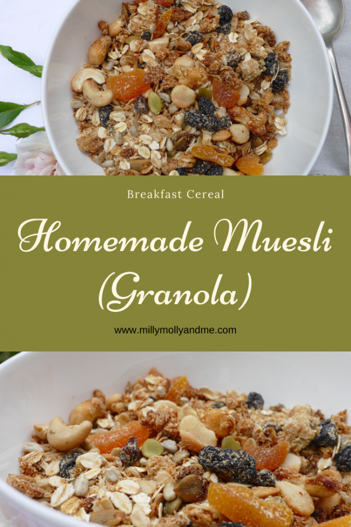 Homemade Muesli (Pin)