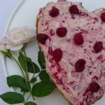 Raspberry Vanilla 'Love' Cake