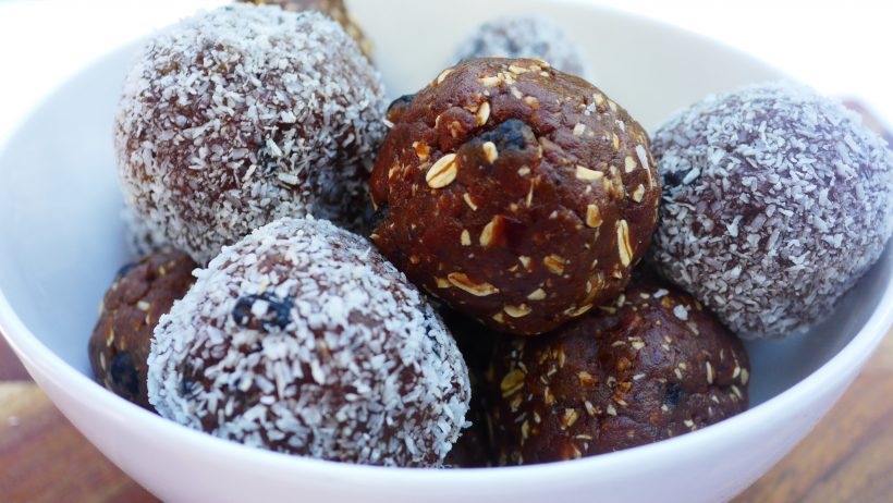 Cacao and Tahini Protein Balls