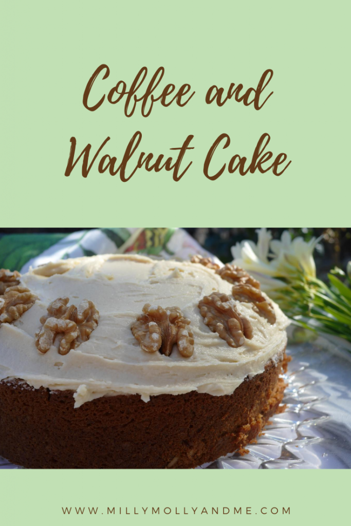 Coffee and Walunt Cake