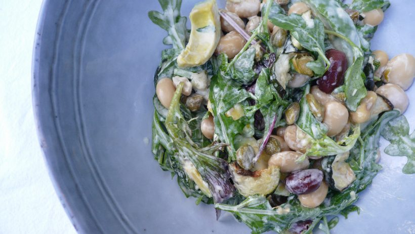 Tangy Butter Bean Salad