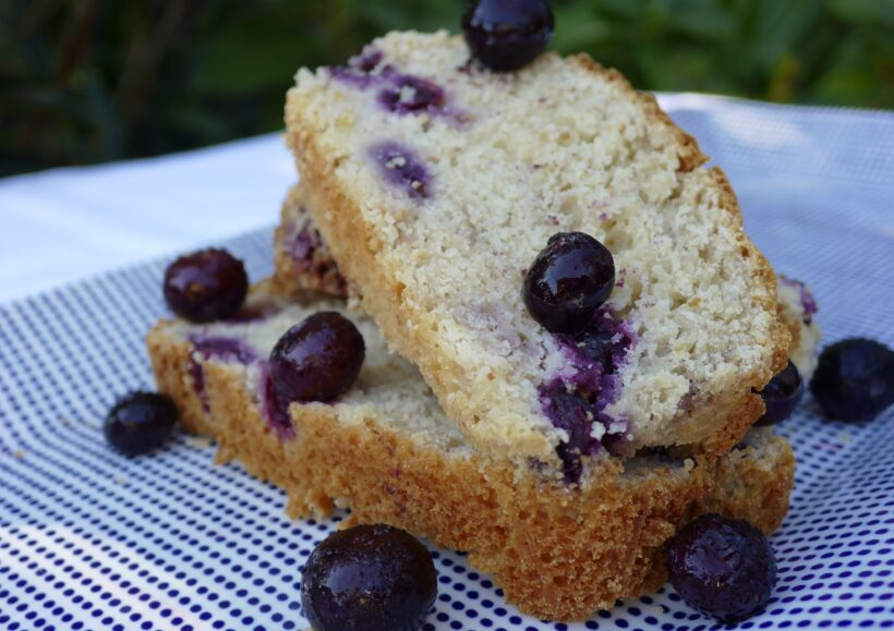 Banana and Blueberry Health Loaf