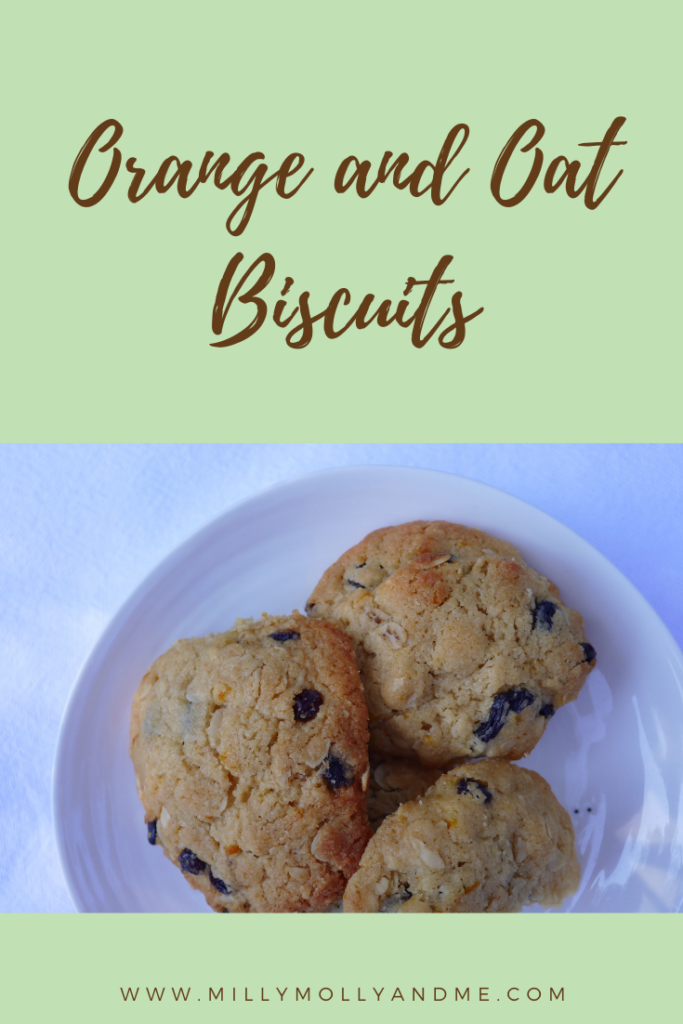 Orange and Oat Biscuits Pin